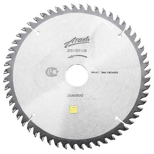 Пильный диск Атака Профи (8078030) 200х30 мм пильный диск lom 1857941 200х30 мм