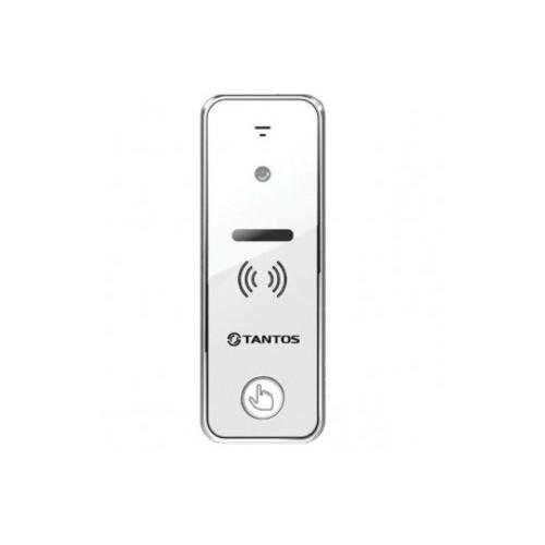 Вызывная (звонковая) панель на дверь TANTOS iPanel 2 + белый видеодомофон tantos loki