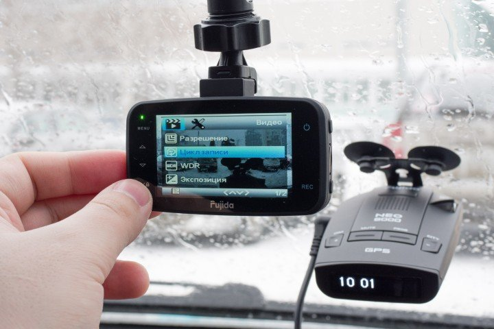 Обзор видеорегистратора Fujida Zoom 8 и радар-детектора Fujida Neo 8000 на Яндекс.Маркете