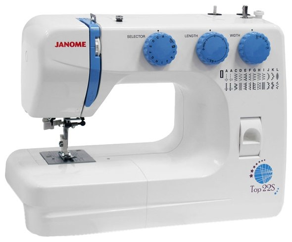 Сравнение с Швейная машина Janome Top 22S