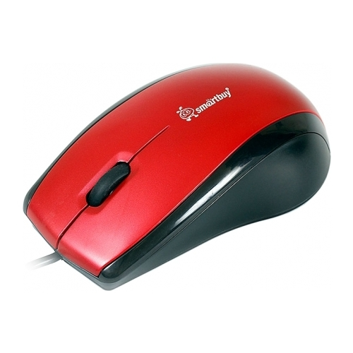 Мышь SmartBuy SBM-101U-R/K Red-Black USB