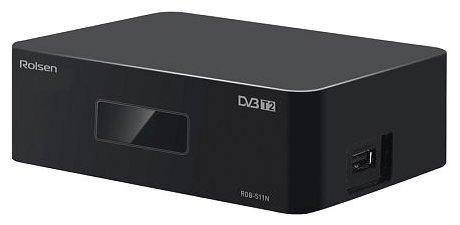 Rolsen RDB-511N, Black ТВ-тюнер