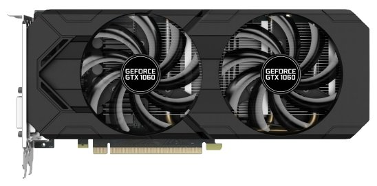 Gainward Видеокарта Gainward GeForce GTX 1060 1506Mhz PCI-E 3.0 3072Mb 8000Mhz 192 bit DVI HDMI HDCP
