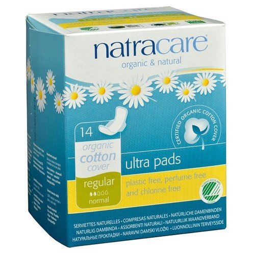 Natracare прокладки Ultra Pads Regular 14 шт.