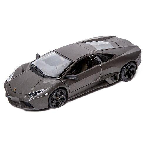 Купить Легковой автомобиль Bburago Lamborghini Reventon (18-11029) 1:18 23 см серый, Машинки и техника