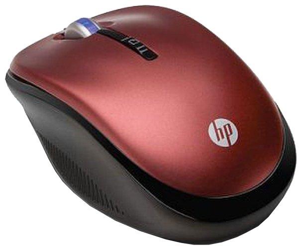 Мышь HP XB386AA Red USB