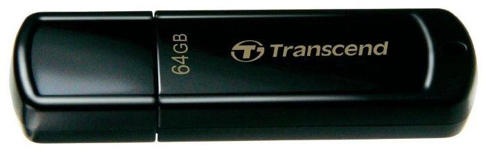 Флешка Transcend JetFlash 350 64Gb — купить по выгодной цене на Яндекс.Маркете