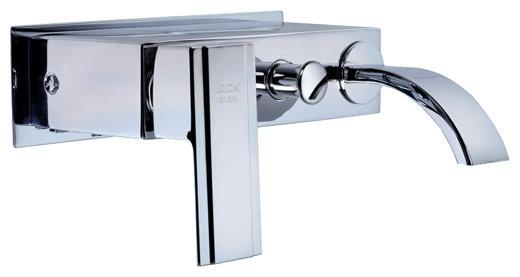Однорычажный смеситель для ванны с душем E.C.A. Mix E 402 102 203