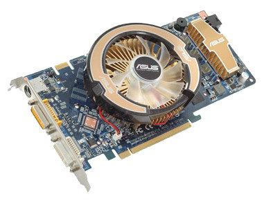 ASUS GeForce 8800 GS 600Mhz PCI-E 2.0 384Mb 1800Mhz 192 bit 2xDVI TV HDCP YPrPb
