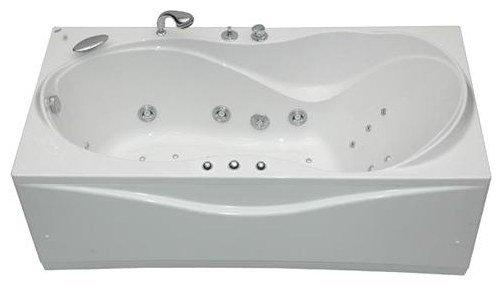Отдельно стоящая ванна Aquanet Grenada 170x80 с гидромассажем