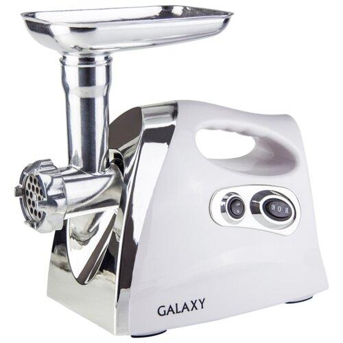 Мясорубка Galaxy GL2412 белый/серебристый