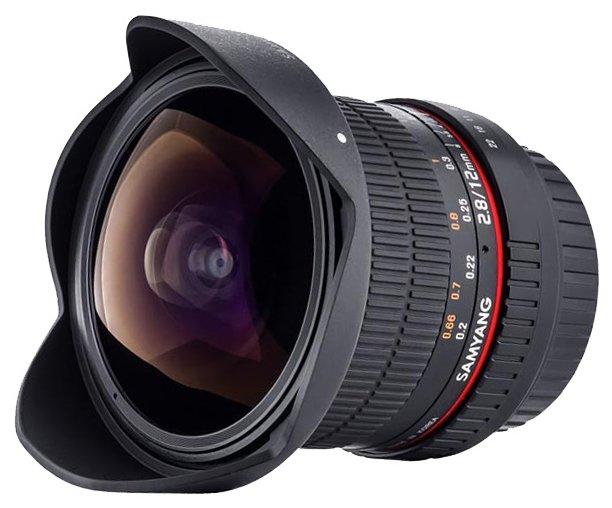 Samyang Объектив Samyang 12mm f/2.8 ED AS NCS Fish-Eye Canon EF