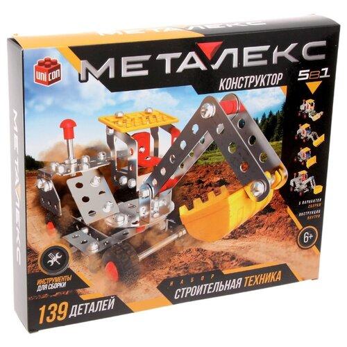 Купить Винтовой конструктор UNICON Металекс 2332349 Строительная техника, Конструкторы