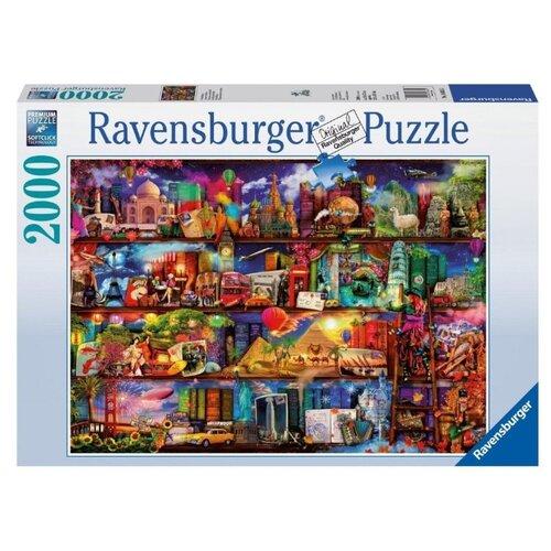 Пазл Ravensburger Книжный мир (16685), 2000 дет. ravensburger водная стихия 3х500