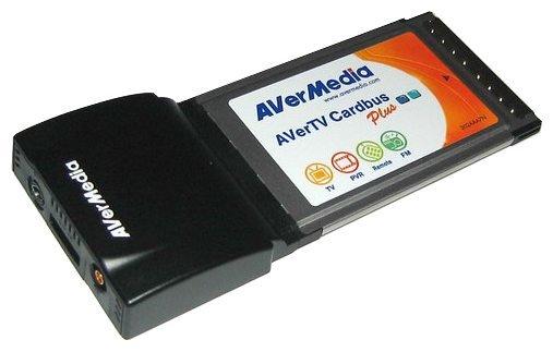 TV-тюнер AVerMedia Technologies AverTV CardBus Plus