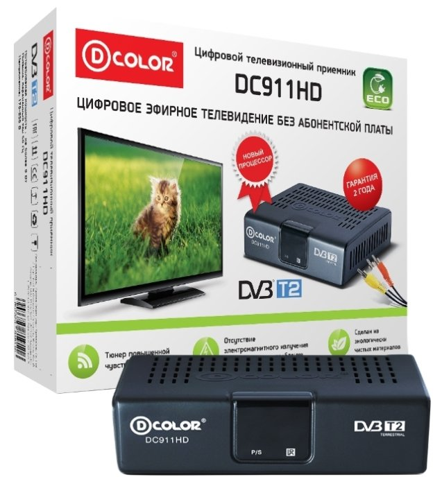 TV-тюнер D-COLOR DC911HD