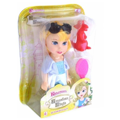 Кукла 1 TOY Волшебная сказка, 15 см, Т10165Куклы и пупсы<br>