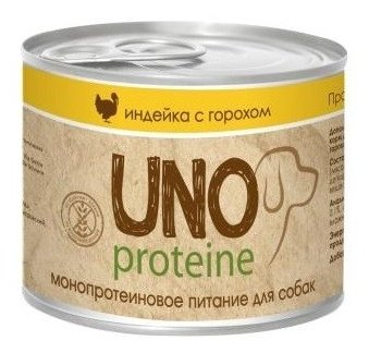 Корм для собак Vita PRO Uno Protein Индейка с горохом в желе