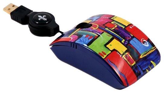 Мышь Bodino MOVING CHAKRAS Red-Blue USB