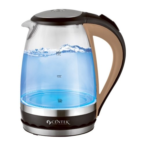 Чайник CENTEK CT-0046, blackЭлектрочайники и термопоты<br>