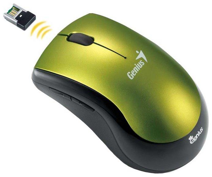 Мышь Genius Ergo 7000 Green USB