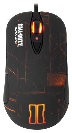 Мышь SteelSeries Call of Duty Black Ops II Gaming Mouse Black USB