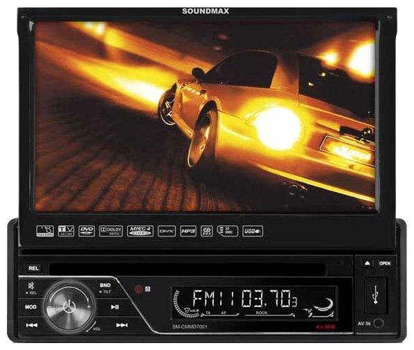 Автомагнитола SoundMAX SM-CMMD7001