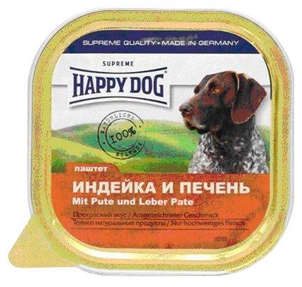 Корм для собак Happy Dog NaturLine индейка, печень 300г
