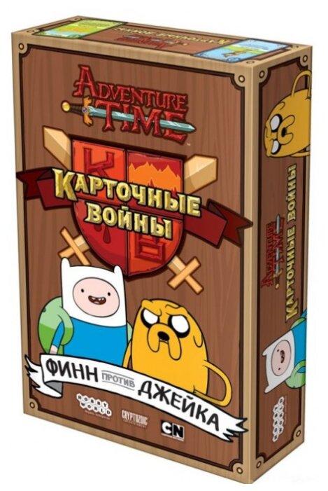 Настольная игра HOBBY WORLD Время приключений: Карточные войны. Финн против Джейка — купить и выбрать из более, чем 38 предложений по выгодной цене на Яндекс.Маркете