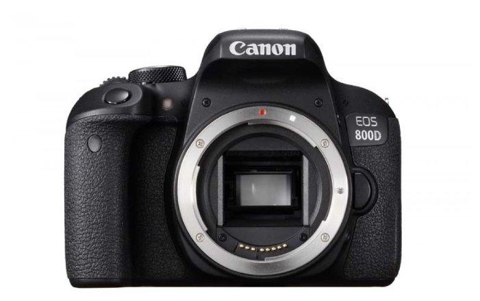 Canon Зеркальный фотоаппарат Canon EOS 800D Body
