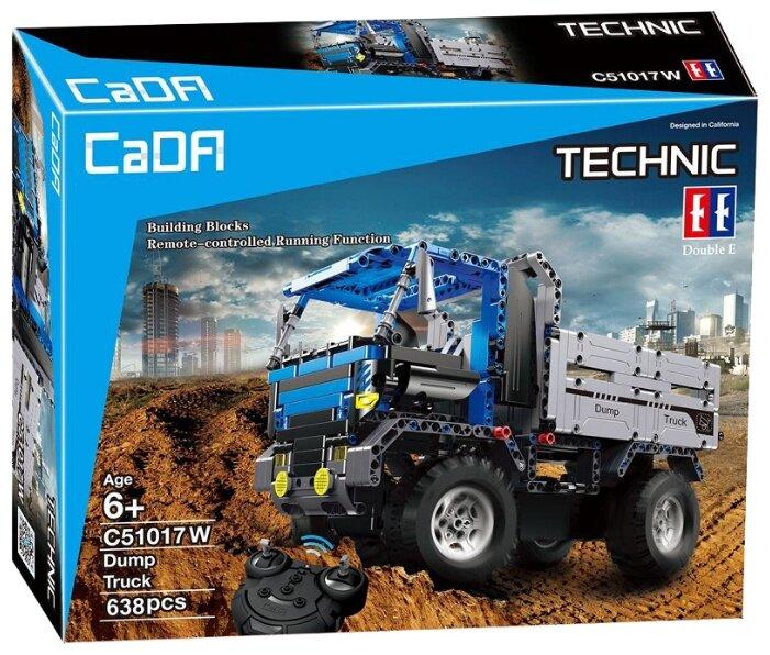 Электромеханический конструктор Double Eagle CaDA Technic C51017W Самосвал