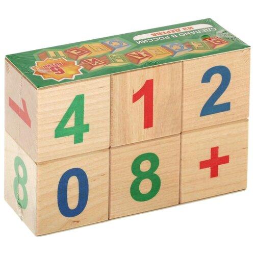 Кубики Теремок (Пелси) Веселый счет И680