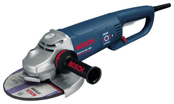 УШМ BOSCH GWS 24-230 JBX, 2400 Вт, 230 мм