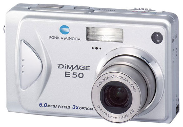Фотоаппарат Konica Minolta DiMAGE E50