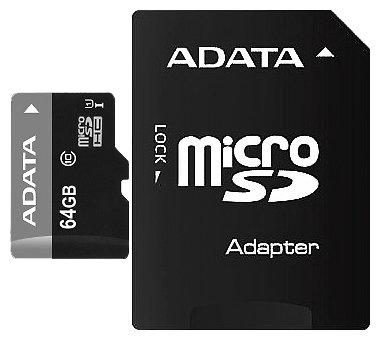 ADATA microSDHC Class 10 + SD adapter