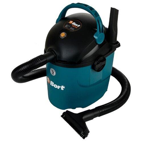 Профессиональный пылесос Bort BSS-1010 1000 Вт черный/голубой