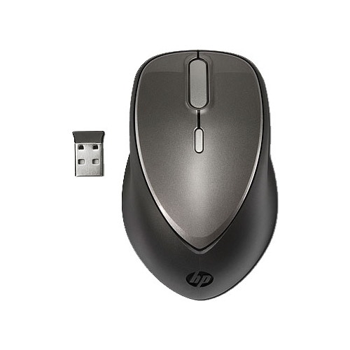 Мышь HP A0X36AA Black-Grey USB