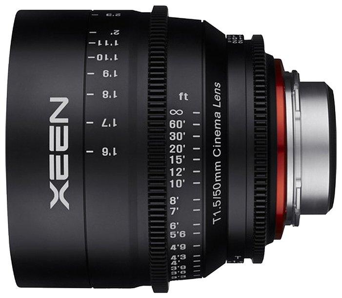 Объектив Xeen 50mm T1.5 Sony E