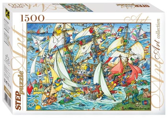 Пазл Step puzzle Всем в море! (83043), 1500 дет.