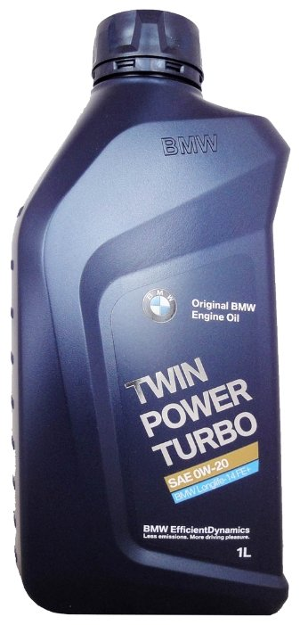 Моторное масло BMW TwinPower Turbo Longlife-14 FE+ 0W-20 1 л