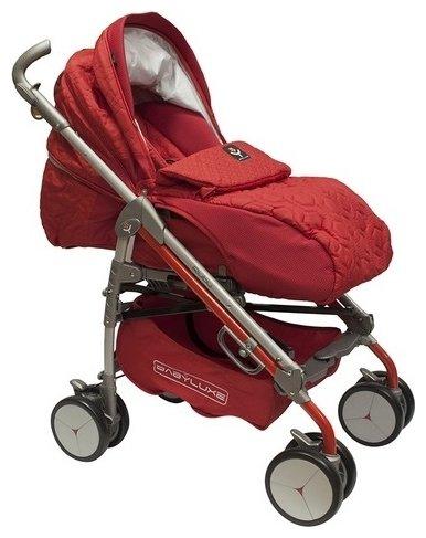 Прогулочная коляска BabyLux Carita 205S (8 колес)