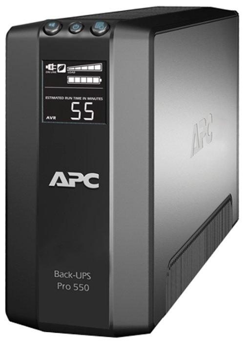 APC by Schneider Electric Power-Saving Back-UPS Pro 550