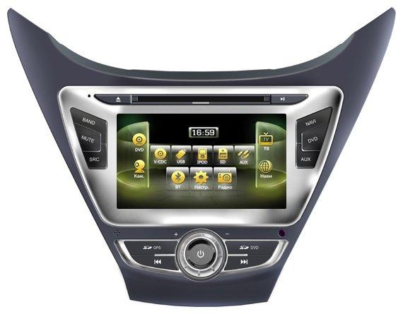 Автомагнитола Navipilot Hyundai Elantra new