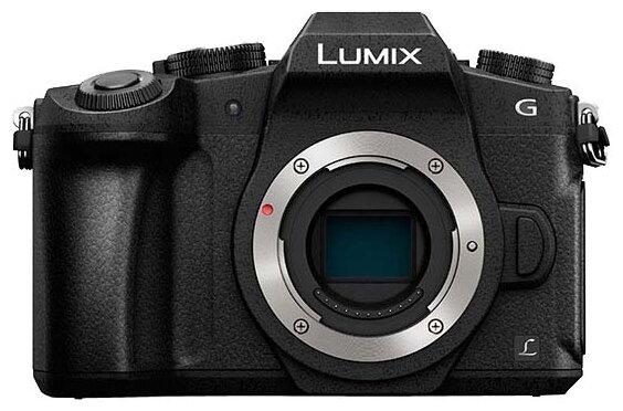 Panasonic Фотоаппарат со сменной оптикой Panasonic Lumix DMC-G80 Body