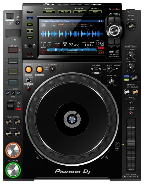 DJ CD-проигрыватель Pioneer CDJ-2000NXS2