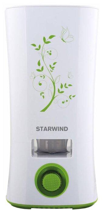 Увлажнитель и очиститель воздуха StarWind SHC4210 белый/зеленый (SHC4210)