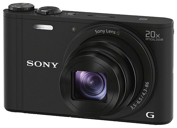 Фотоаппарат Sony DSC-WX350 Cyber-Shot White