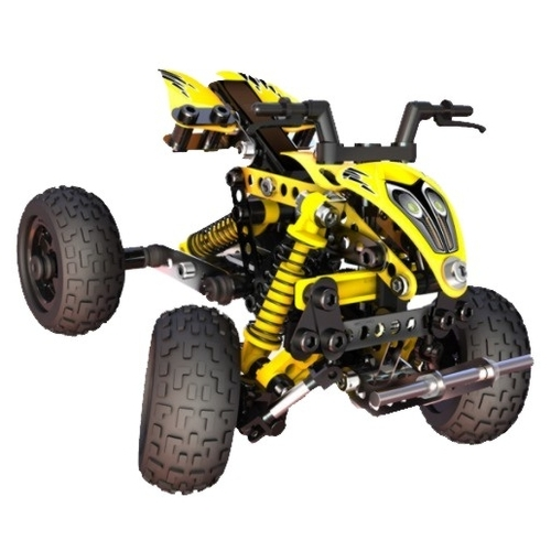 Винтовой конструктор Meccano Evolution 865210 ATV квадроцикл