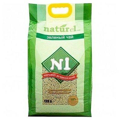 Наполнитель N1 Naturel Зеленый чай (17.5 л)