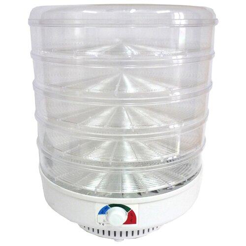 Сушилка Спектр-Прибор ЭСОФ-0.6/220 Ветерок-2 прозрачный (5 поддонов) белый